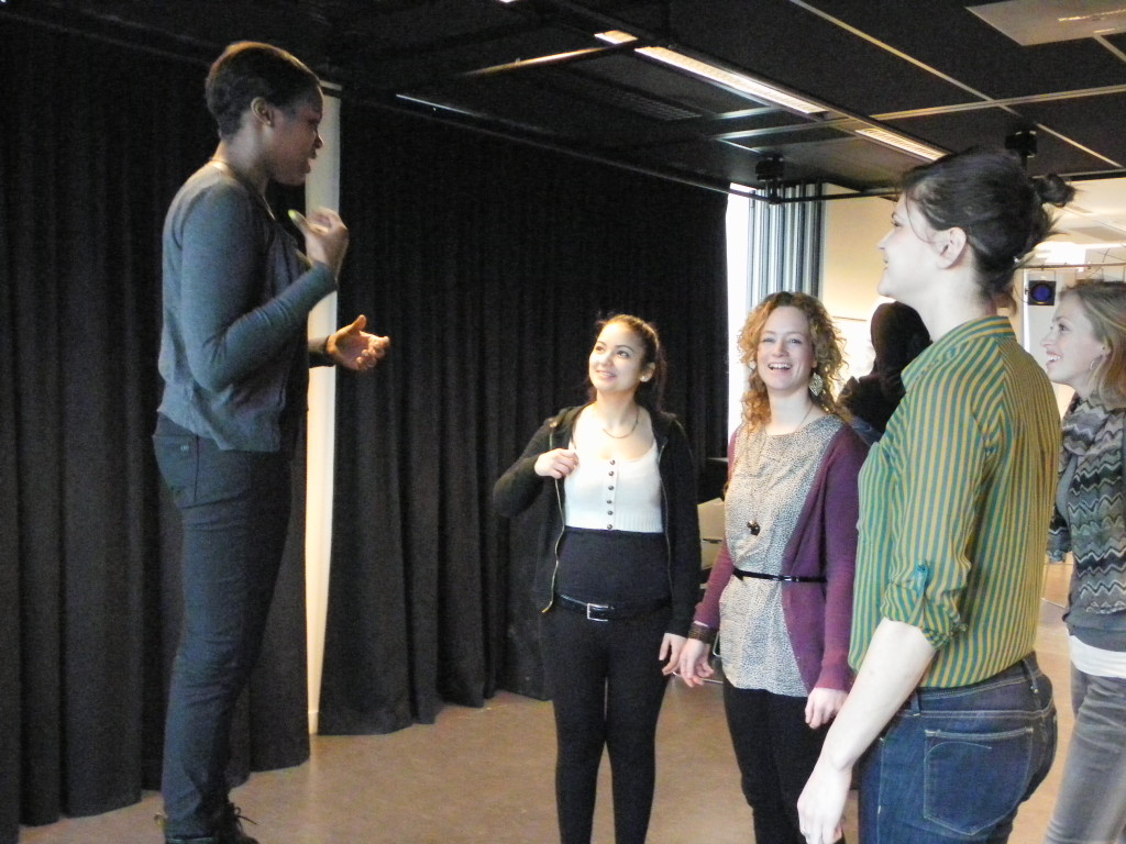 Workshop Stem en Theater